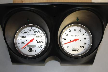 Custom Camaro Gauge Install kit